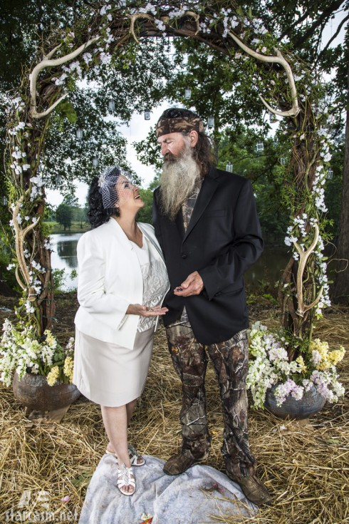 Duck Dynasty Phil Robertson and Ms. Kay Robertson vow renewal ceremony