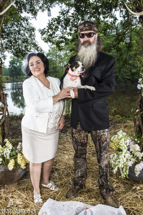 Duck Dynasty Season 4 Premiere Phil Robertson Ms Kay redneck vow renewal