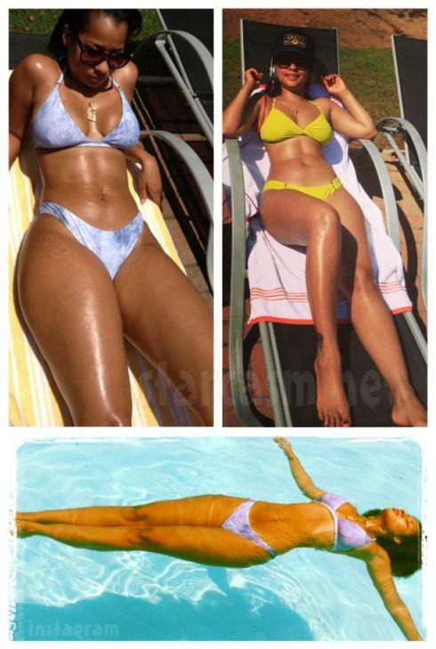 Waka Flocka Flame's fiancee Tammy Rivera bikini photos