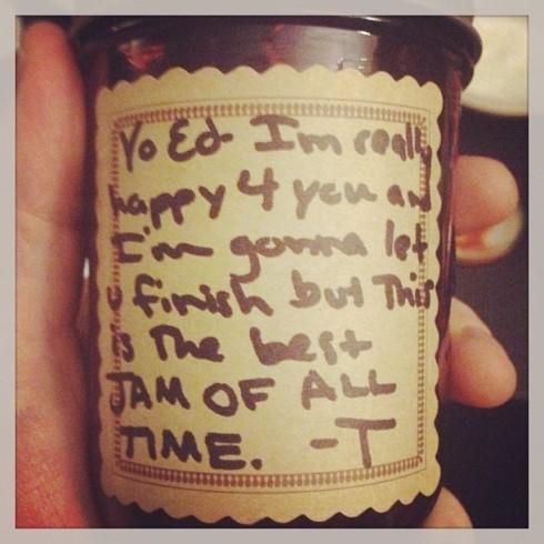 Taylor Swift Jam to Ed Sheeran