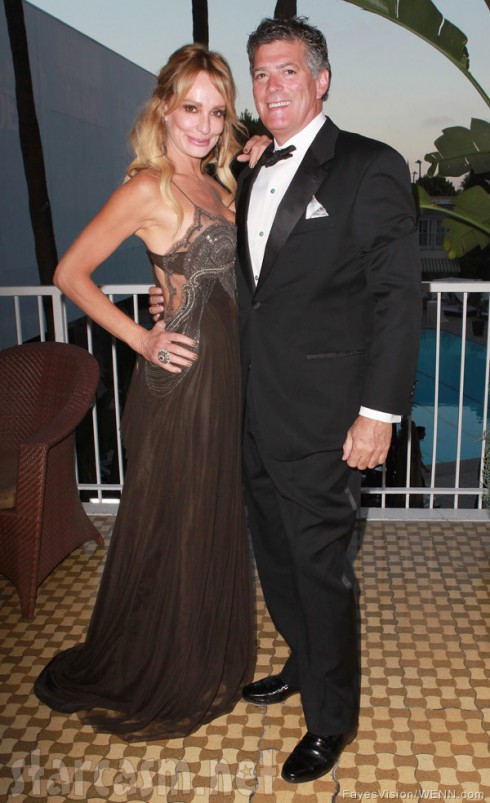 Taylor Armstrong and fiance John Bluher