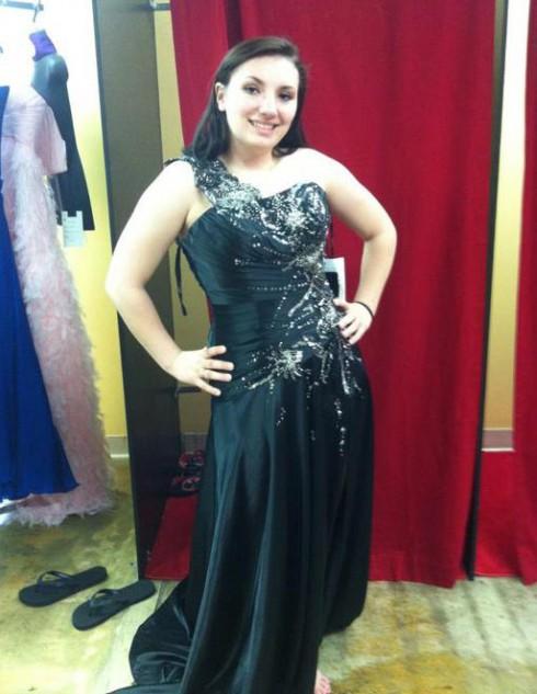 Teen Mom 3 Alex Sekella prom dress