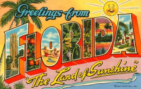 Weird Florida Post Card