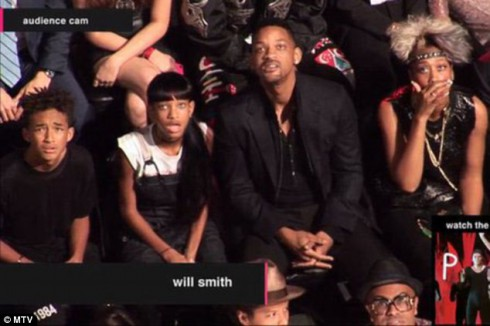 Will Smith Family Reaction to Miley Cyrus