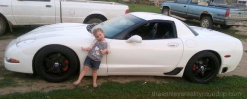 Adam Lind Corvette daughter Aubree