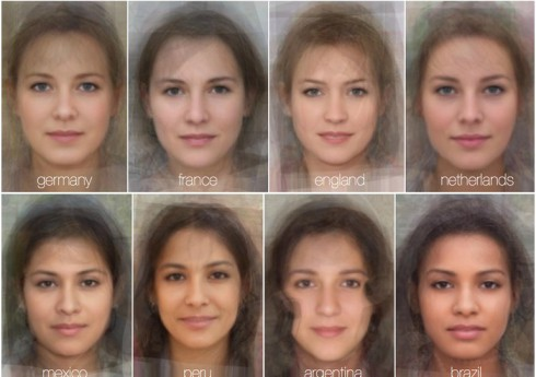 Average Women's Faces Around the World Top