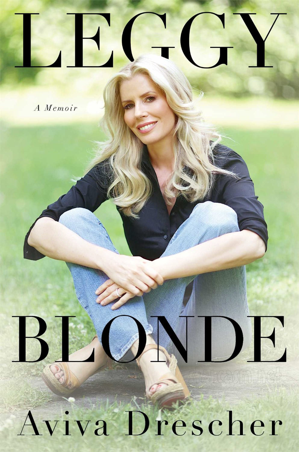 Aviva Drescher Leggy Blonde book cover