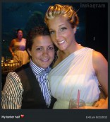 Becky Hayter and Kimberly Rene at Kailyn Lowry's wedding