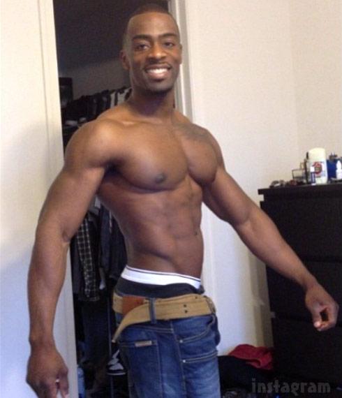 hot sex black man