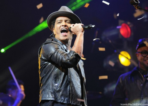 Bruno Mars 2014 Super Bowl Halftime
