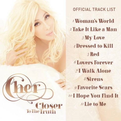 Cher Closer to the Truth track listing standard version