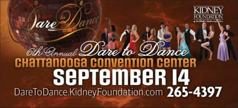 Dare to Dance Chattanooga charity event