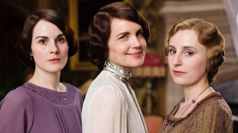 Downton Abbey Season 4 Mary Crawley Cora Crawley and Edith Crawley