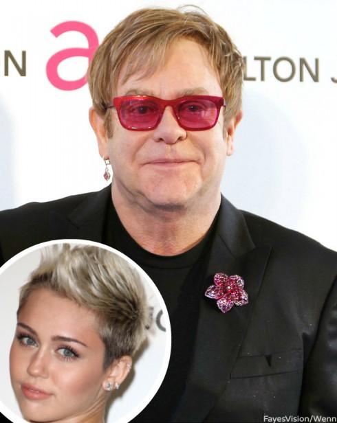 Elton John Miley Cyrus