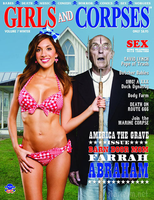 Farrah Abraham Girls and Corpses magazine cover Winter 2013