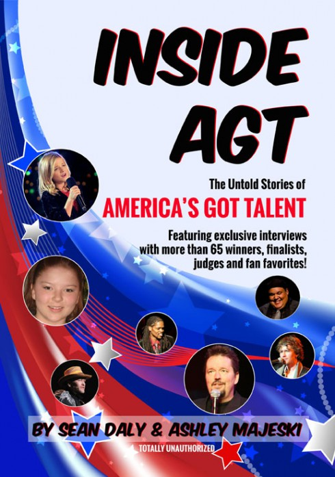 book cover for Inside AGT: The Untold Stories of America's Got Talent