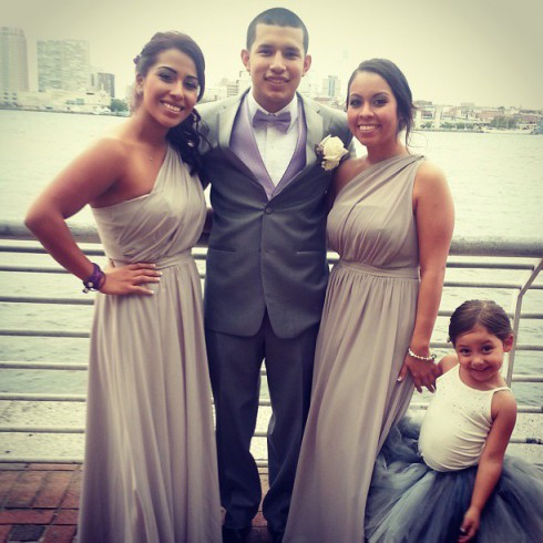 Javi and Bridesmaids
