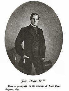 Drew Barrymore genealogy John Drew Sr.