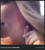 Kailyn Lowry wedding earring