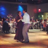 Javi Marroquin and his mother dance at his and Kailyn Lowry's wedding