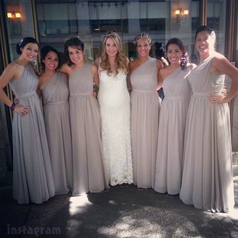 Kailyn Lowry wedding dress bridesmaids maid of honor