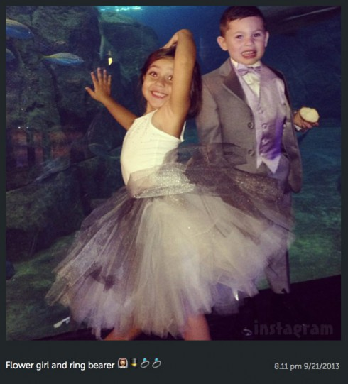 Kailyn Lowry wedding son Isaac ring bearer and flower girl