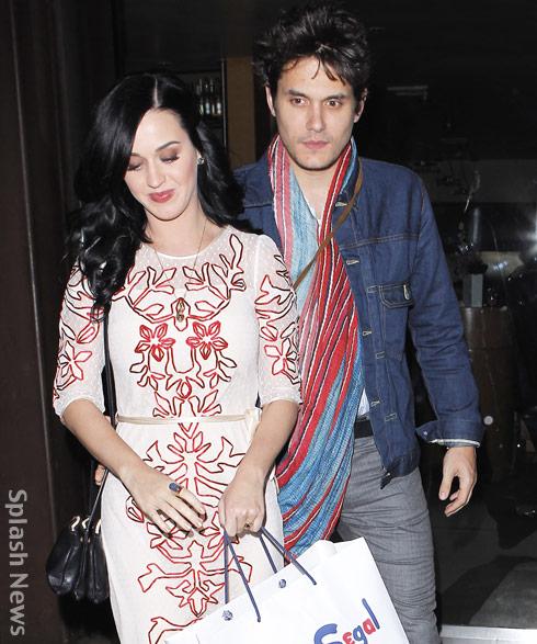 Katy Perry John Mayer dating sedan