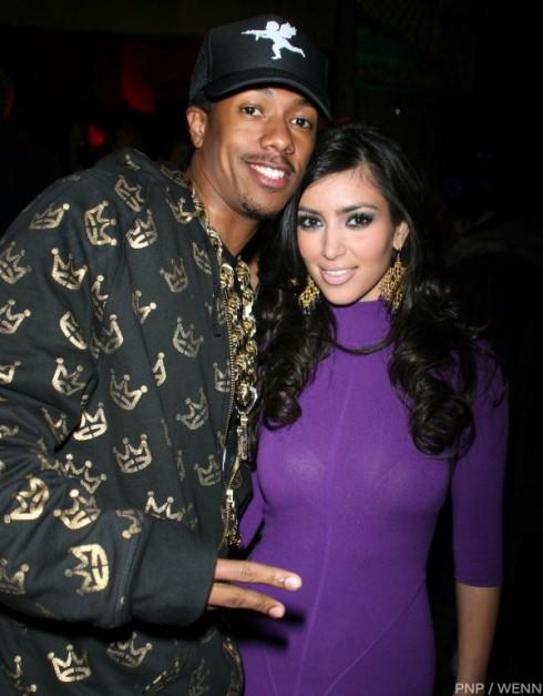 Nick Cannon and Kim Kardashian Dating 2006-2007