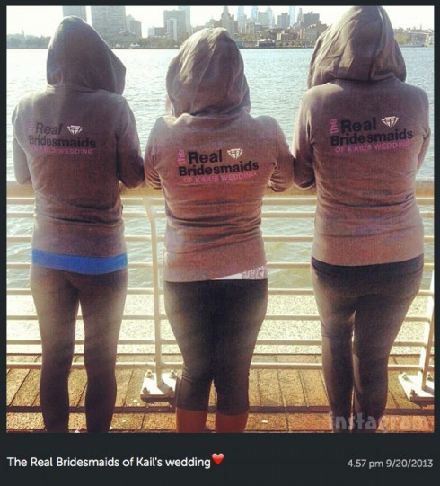 The Real Bridesmaids of Kailyn Lowry's wedding hoodies