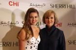 Sadie Robertson with Sherri Hill MBFW