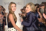 Sadie Robertson and Sherri Hill together MBFW Spring Collection 2014 runway show MBFW