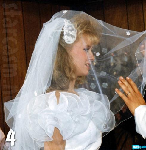 Tamra Barney wedding photo from her first wedding to Darren Vieth