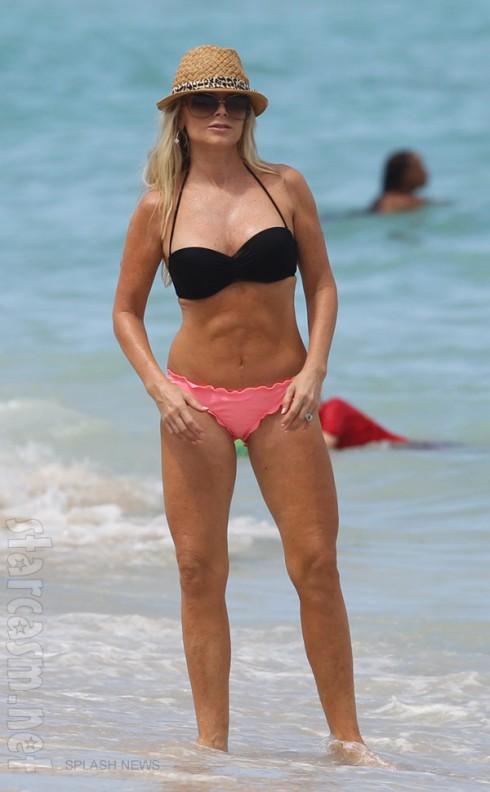 Recent Tamra Barney bikini photo from August 2013