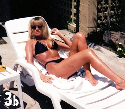 Tamra Barney bikini throwback photo from the 1980s