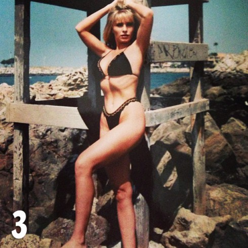 Tamra Barney bikini photo fromt he 1980s from Throwback Thursday