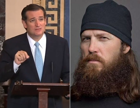 Ted Cruz Quotes | Video Ted Cruz Quotes Duck Dynasty During Obamacare All Nighter