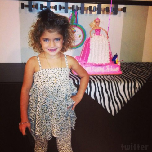 Teresa Giudice's daughter Audriana 4th birthday party