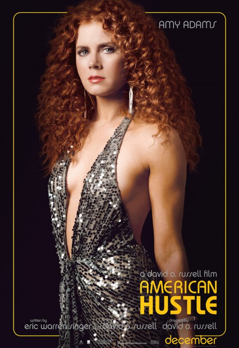 American Hustle Amy Adams as Sydney Prosser character poster