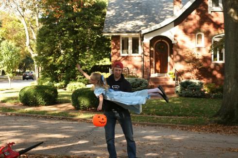 Behind the Scenes Halloween Dad