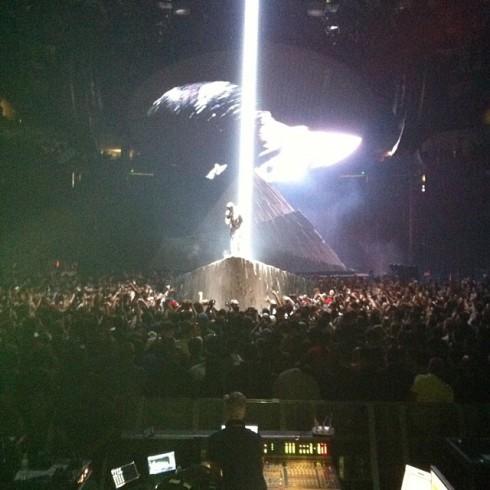 Ben Flajnik and Kris Jenner - Kanye Concert