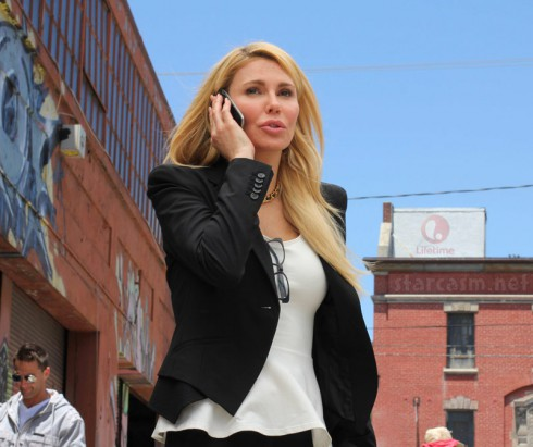Brandi Glanville acting as Erica in Lifetime movie Missing at 17
