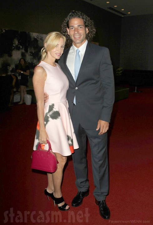 Camille Grammer and boyfriend Dimitri Charalambopoulos together 2013