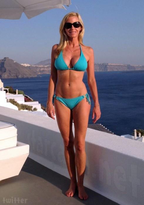 Recent Camille Grammer bikini photo from 2013