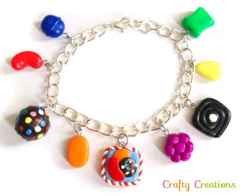 Candy Crush Saga jewelry bracelet from Etsy
