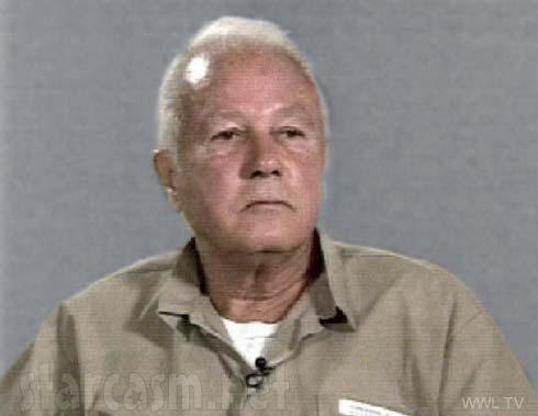 Edwin Edward mug shot style photo from 1998 prison interview