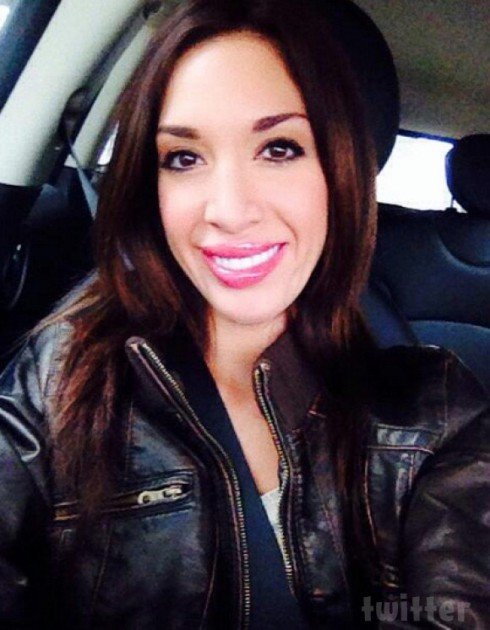 Farrah Abraham lip injections Twitter photo