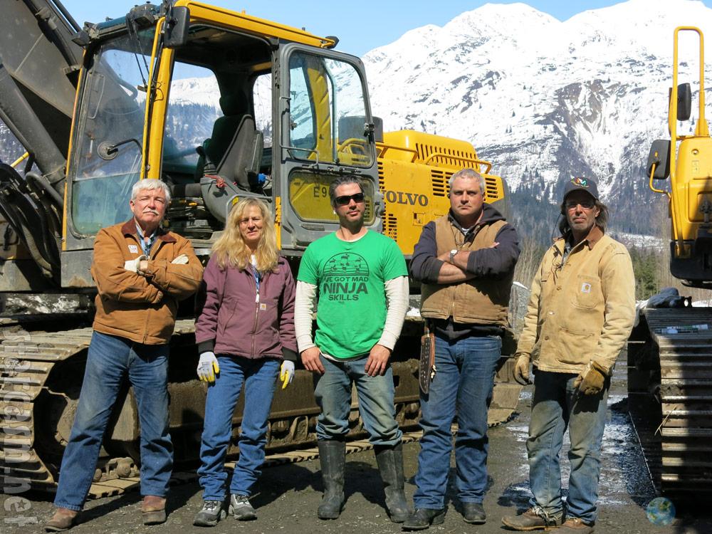 Gold Rush Season 4 photos Todd Hoffman, Parker Schnabel