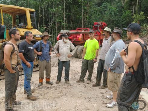 Gold Rush Season 4 Team Todd Hoffman crew