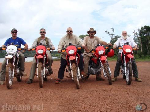 Gold Rush Season 4 Todd Hoffman crew on motorcycles