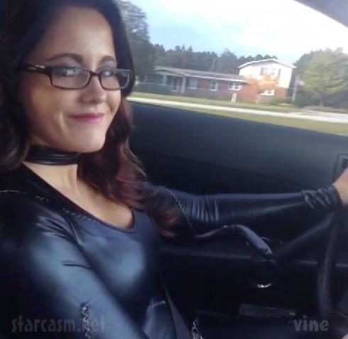 Jenelle Evans catsui Catwoman costume Halloween 2013